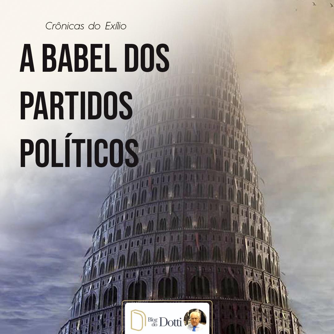 A babel dos partidos políticos