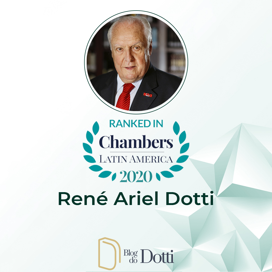 Professor René Dotti no ranking da Chambers & Partners